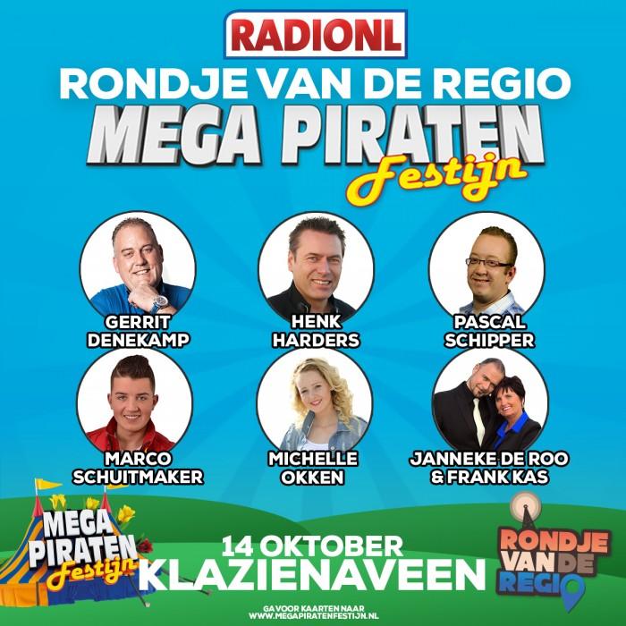 Mega Piraten Festijn Klazienaveen